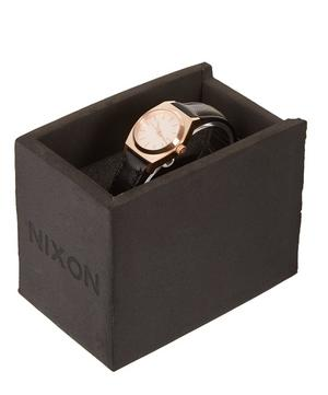 Small Time Teller Rose Gold Dial Watch