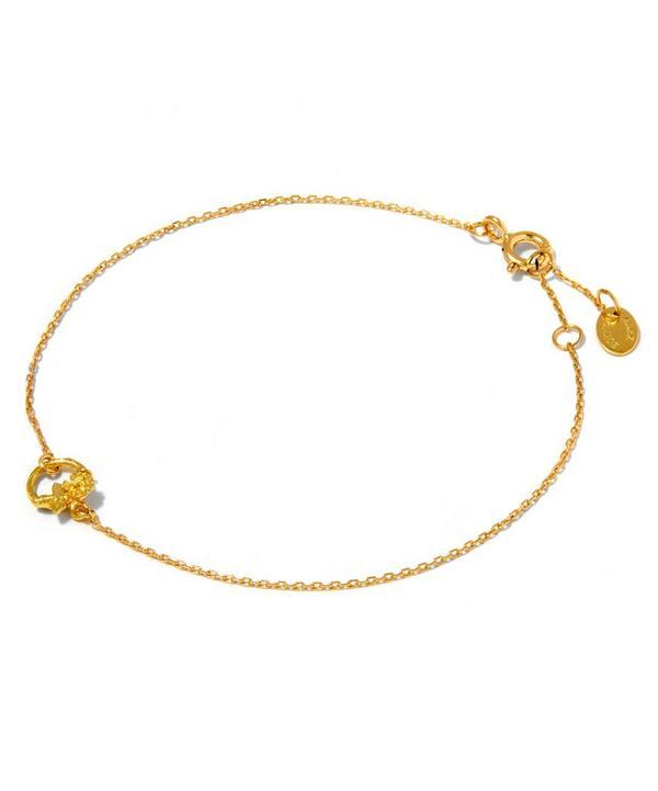 18ct Gold Rosa Ansa Armilla Bracelet