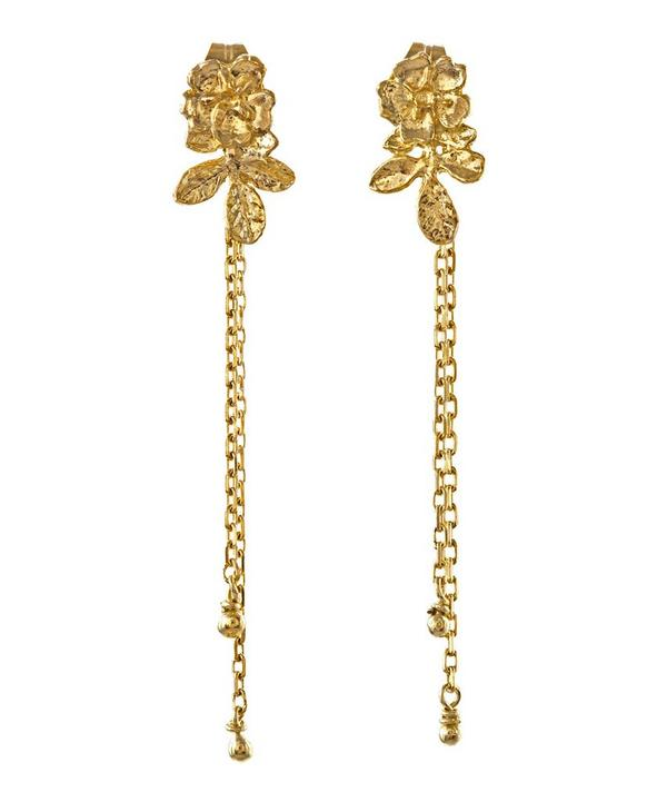 18ct Gold Rosa Catena Earrings