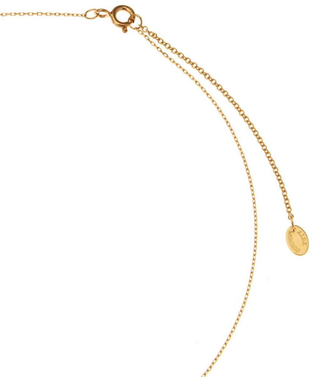 18ct Gold Teeny Tiny Moby Dick Necklace
