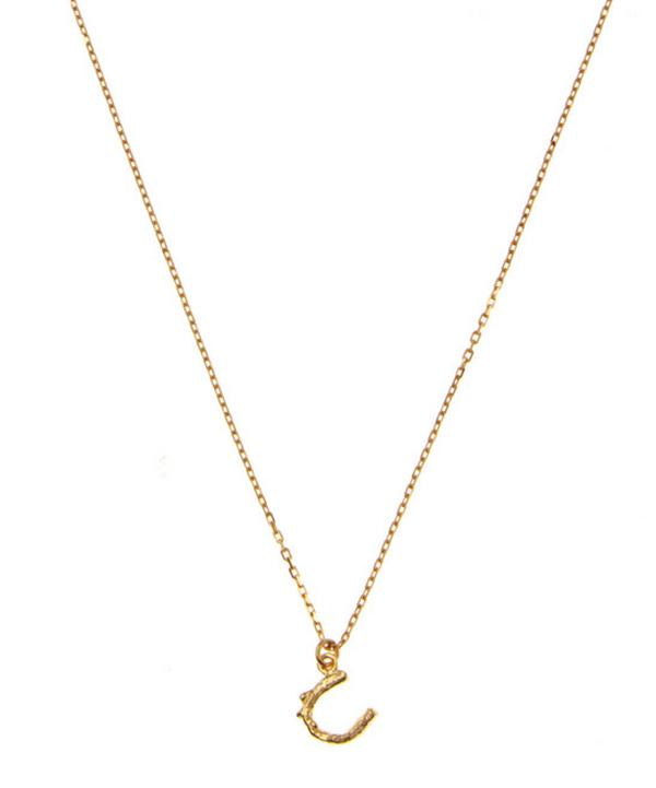 18ct Gold Teeny Tiny Horseshoe Necklace