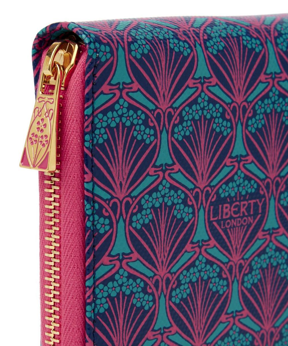 Liberty London Zip Travel Wallet