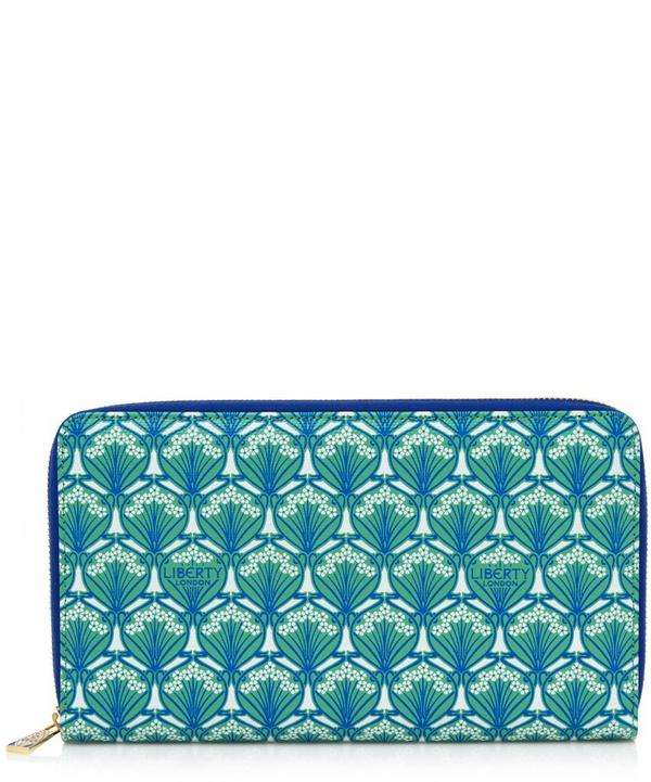 Liberty London Zip Travel Wallet