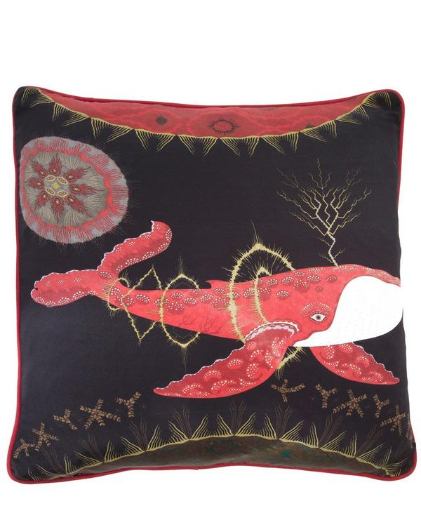 Cosmic Whale Sun Cushion