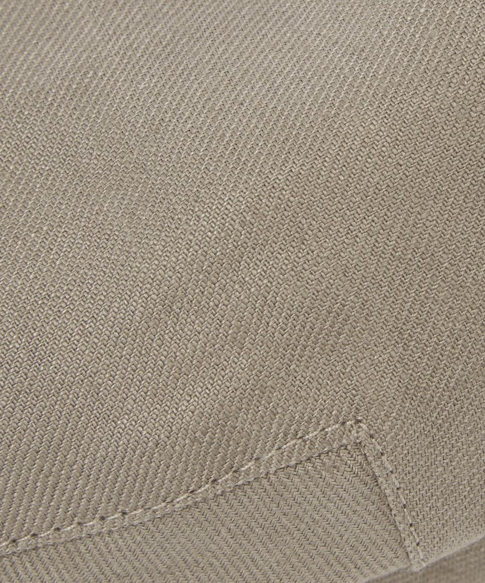 Balmoral Misan Linen Flat Cap