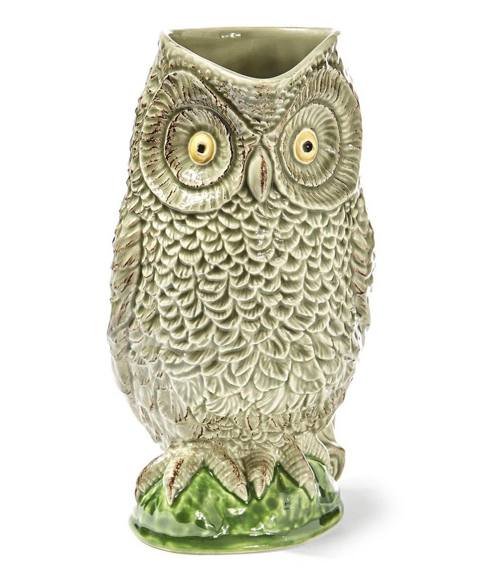 Owl Earthenware Pitcher