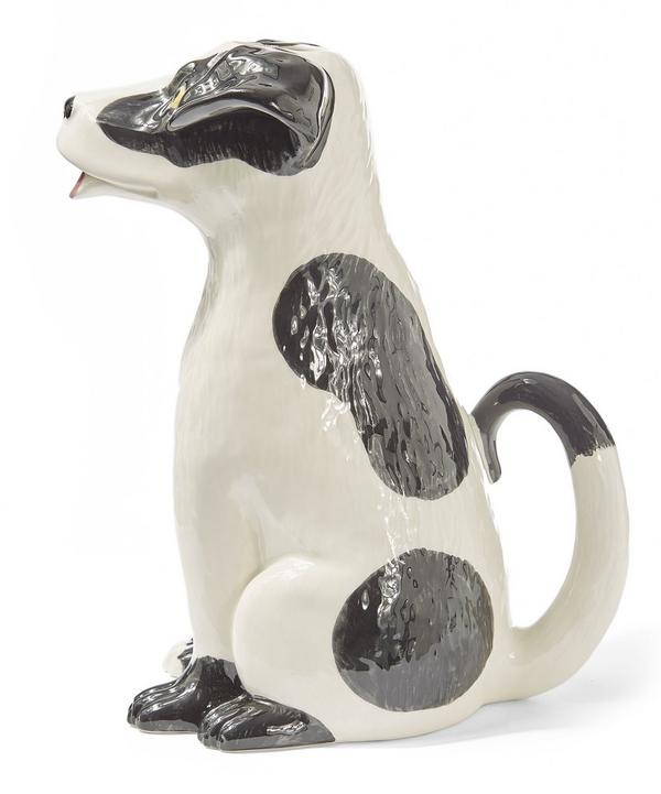 Dog Earthenware Pitcher