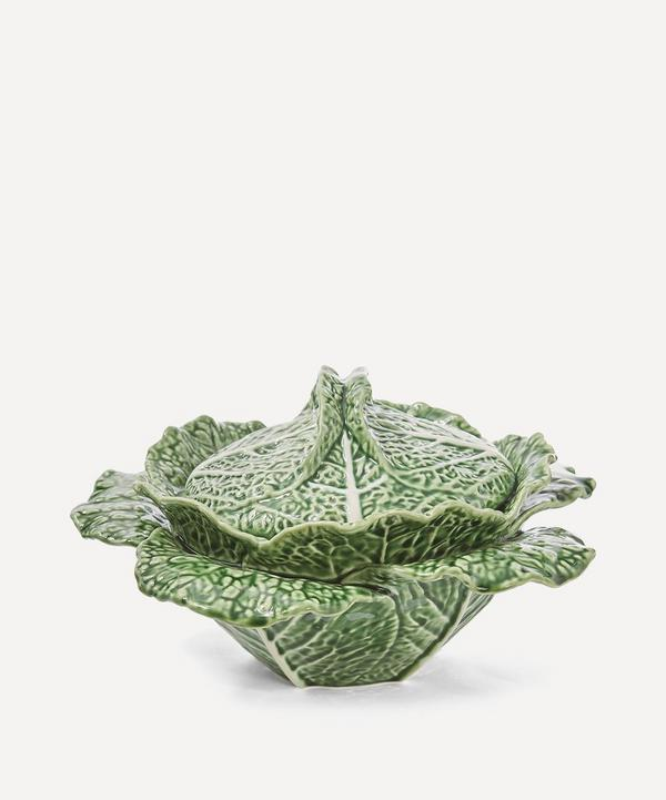 Large Cabbage Earthenware Bowl