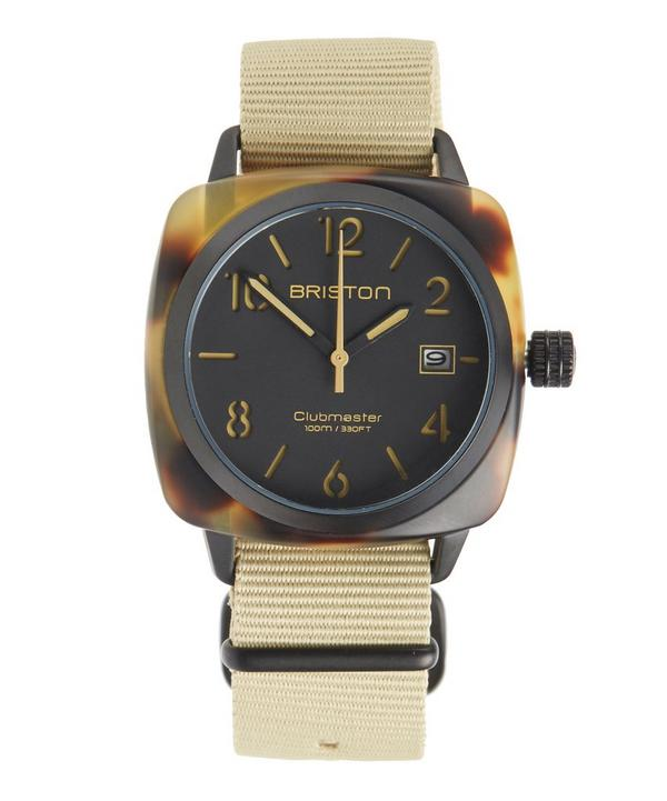 Clubmaster Tortoiseshell Acetate HMS Watch