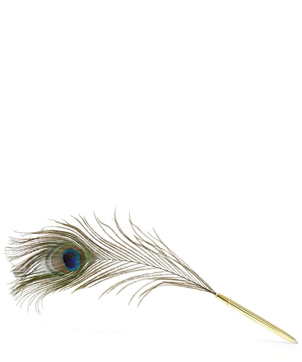 Peacock Feather Pen