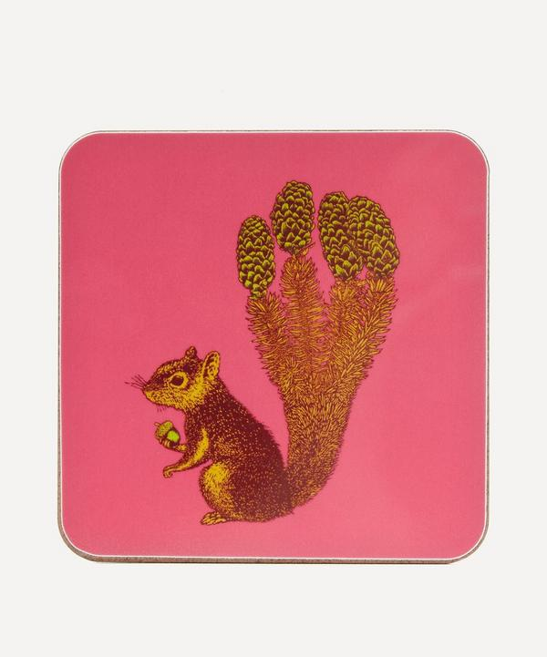 Puddin Head Squirrel Coaster