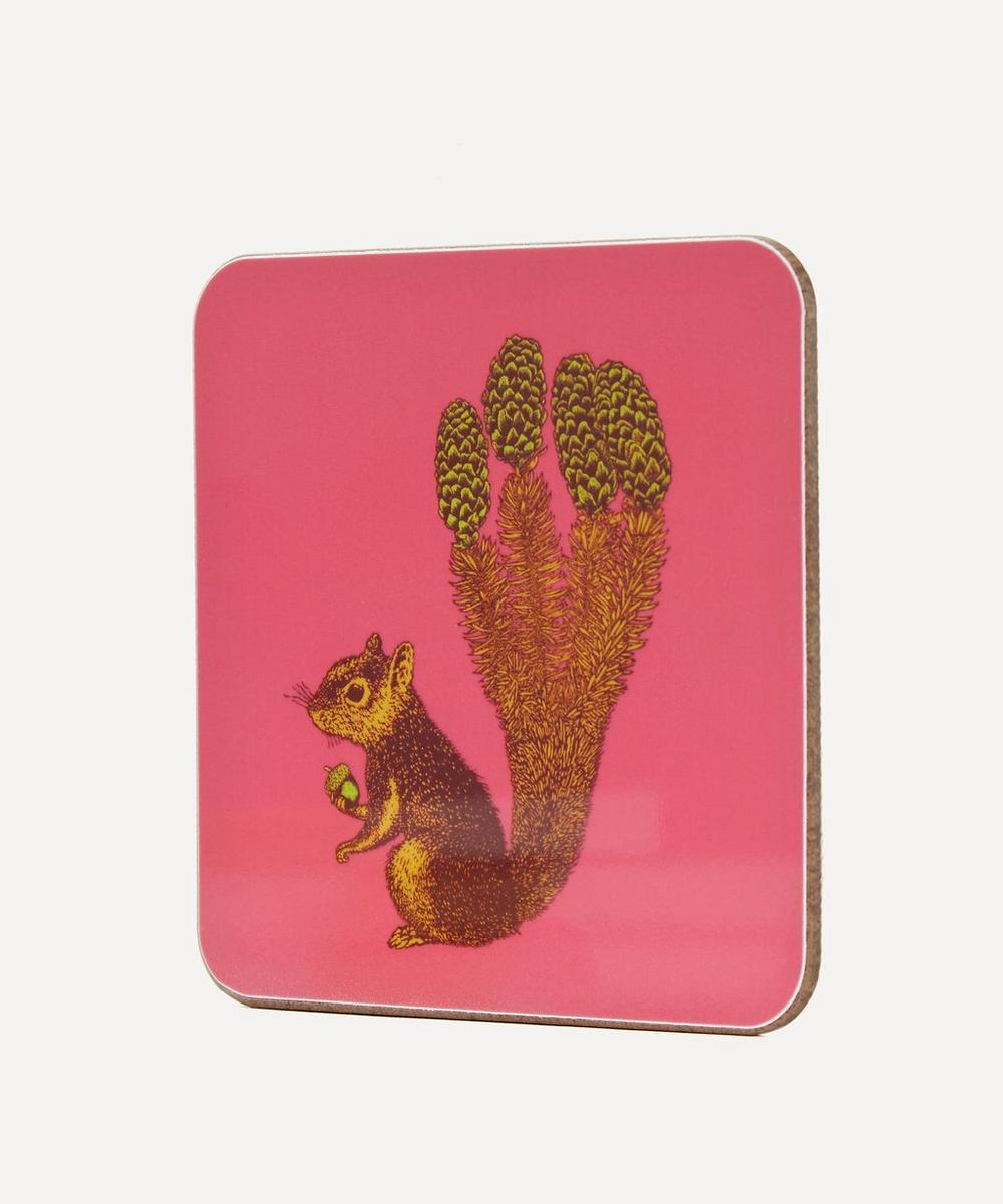 Puddin Head Squirrel Coaster