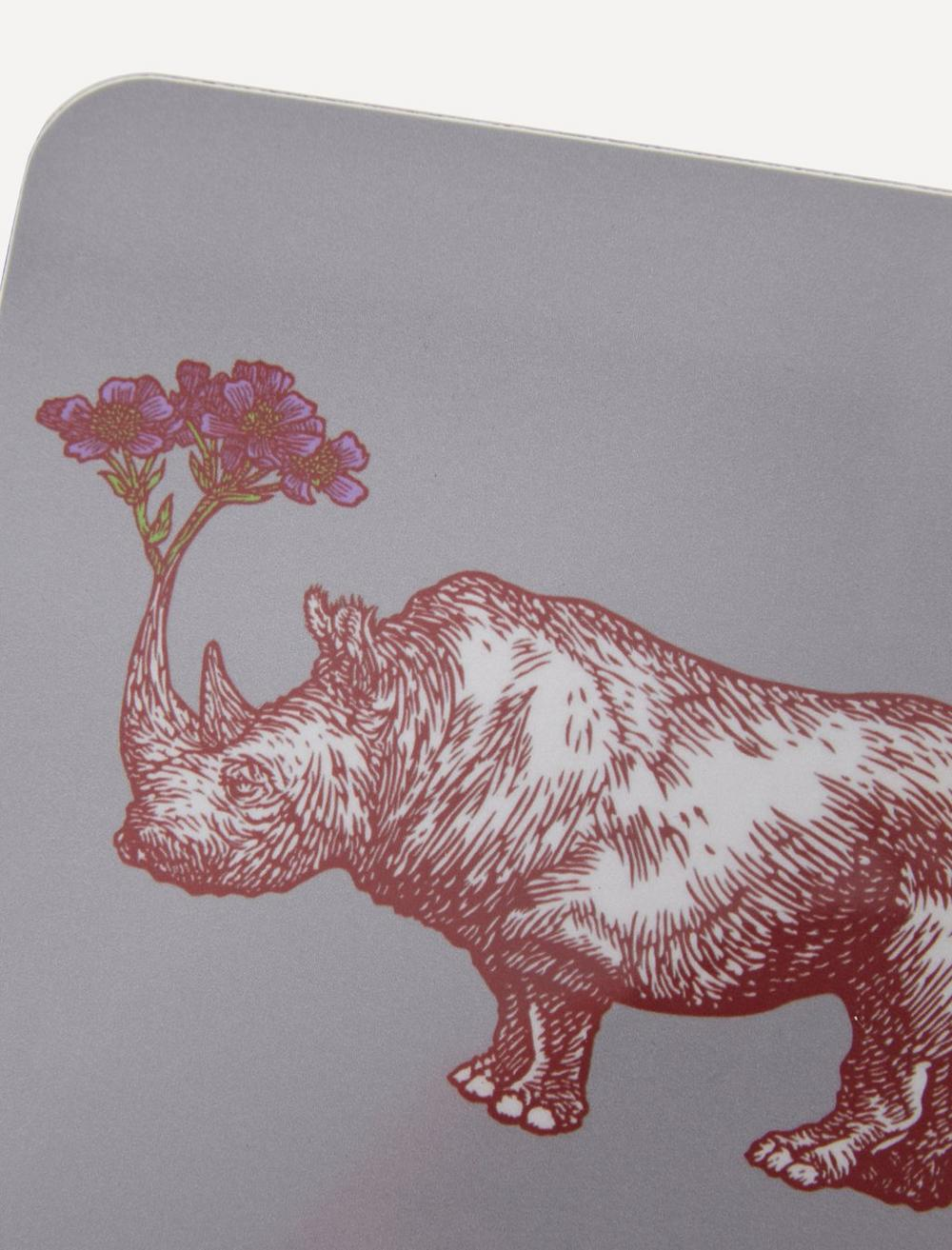 Puddin Head Rhino Coaster