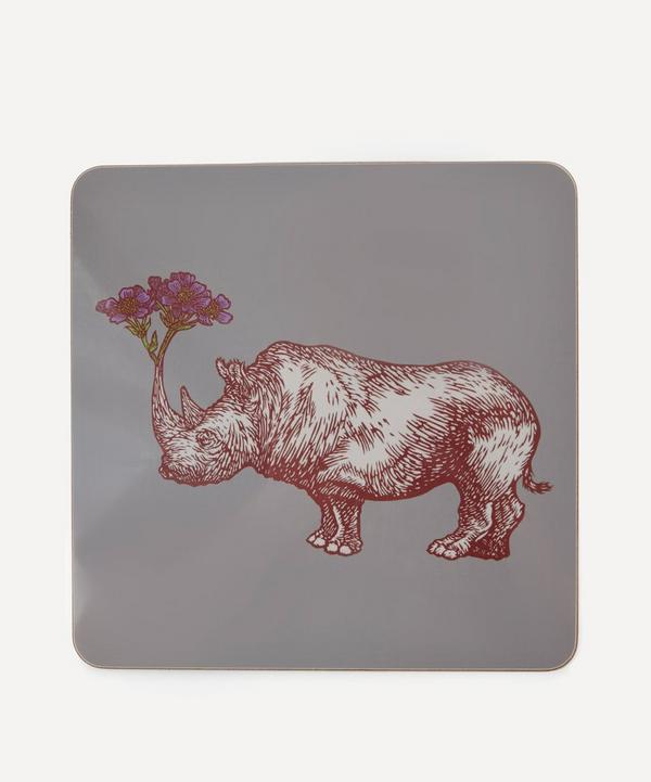 Puddin' Head Rhino Placemat