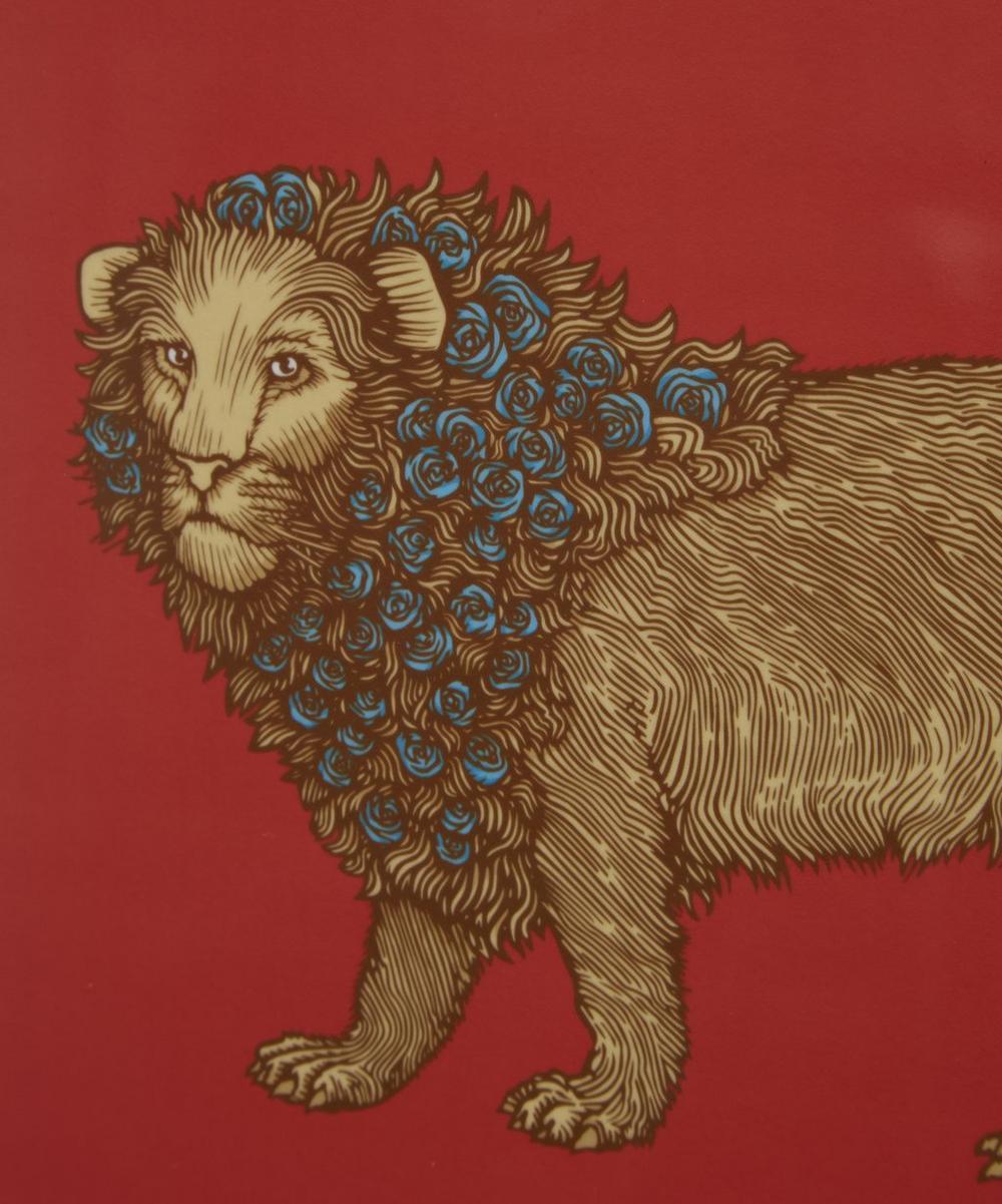 Puddin' Head Lion Placemat
