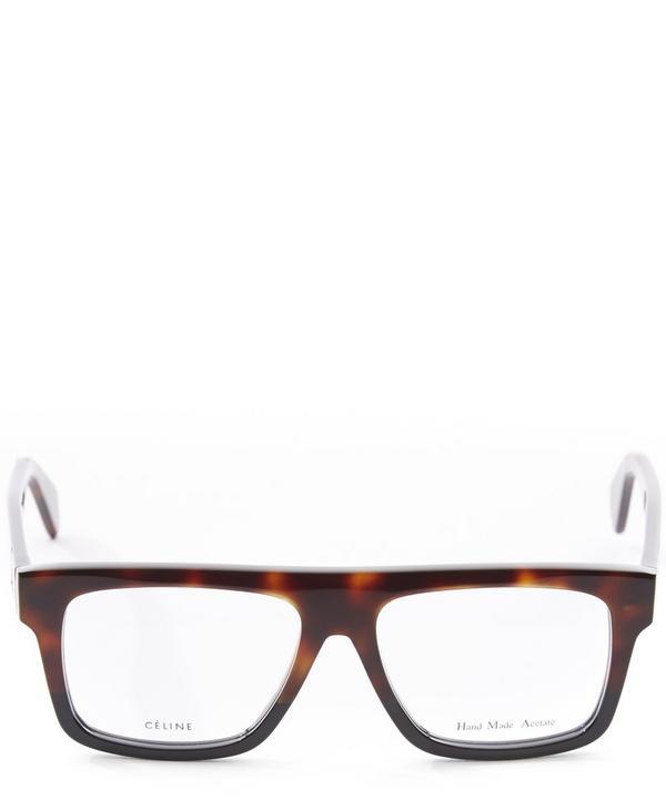 Havana Square Framed Optical Glasses
