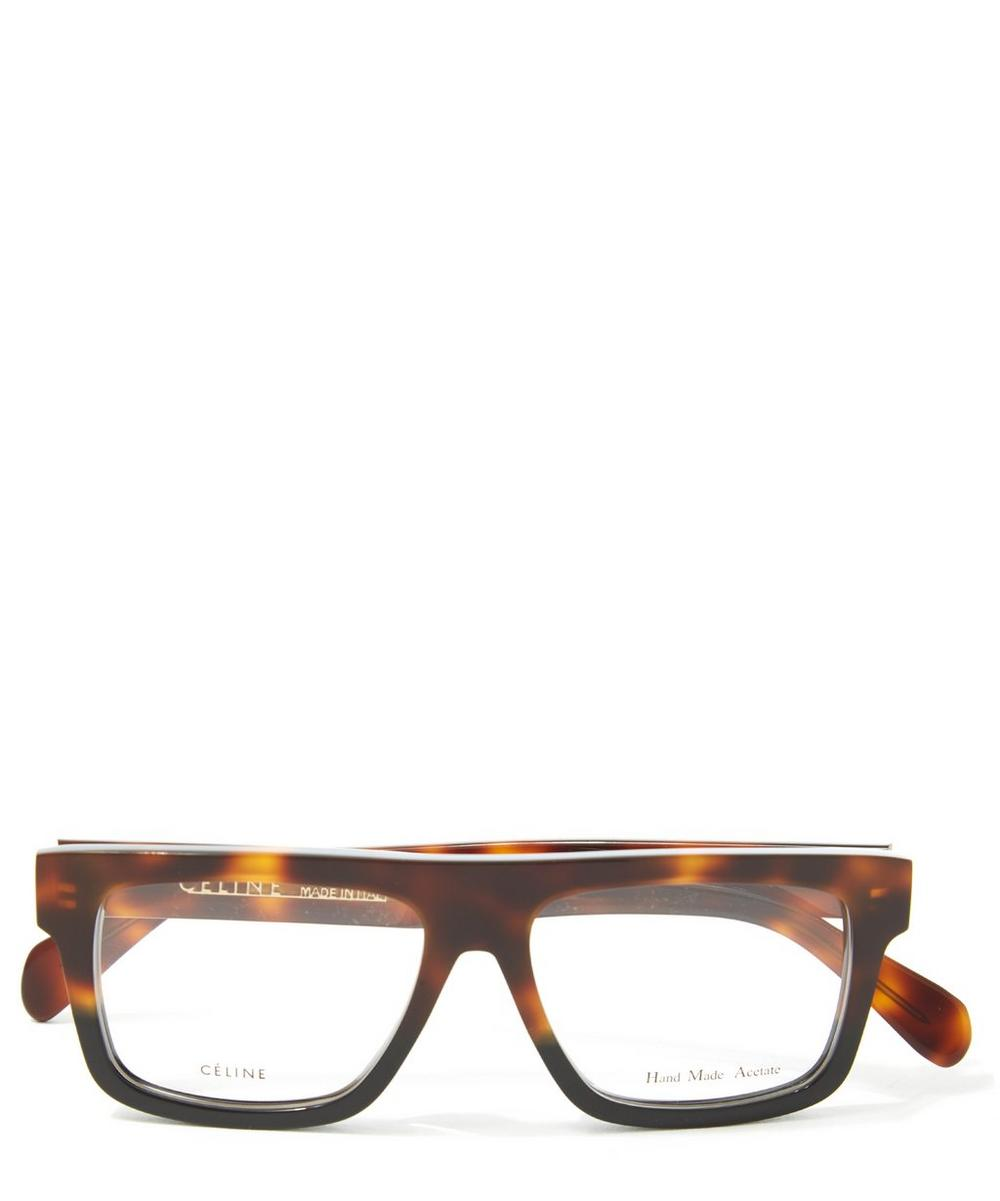 Havana Square Framed Optical Glasses