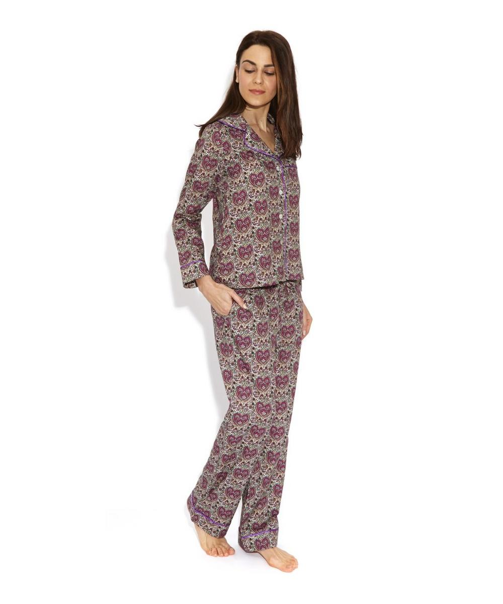 Kitty Grace Cotton Long Pyjama Set