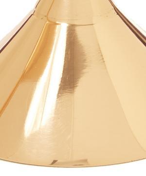 Copper-Plated Plum Martini Glass Set