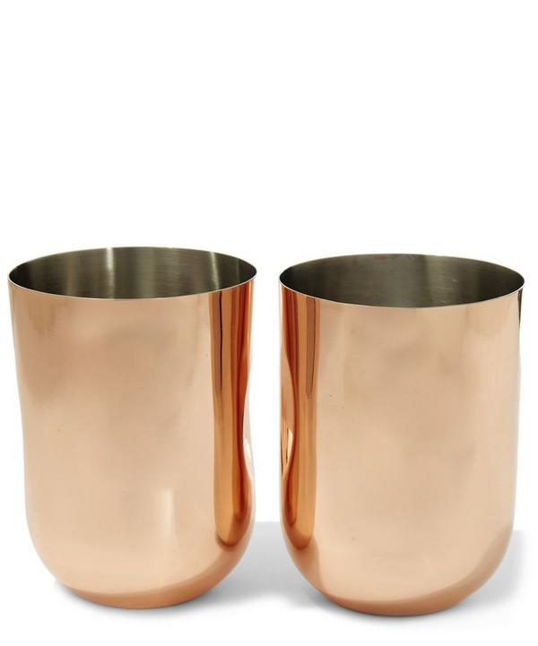 Plum Moscow Mule Mug Twin Set