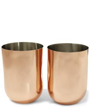 Plum Moscow Mule Mug Twin Set