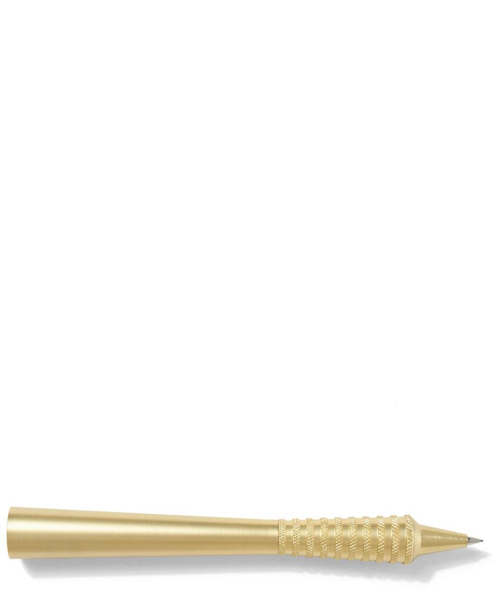 Brass Cog Flare Pencil
