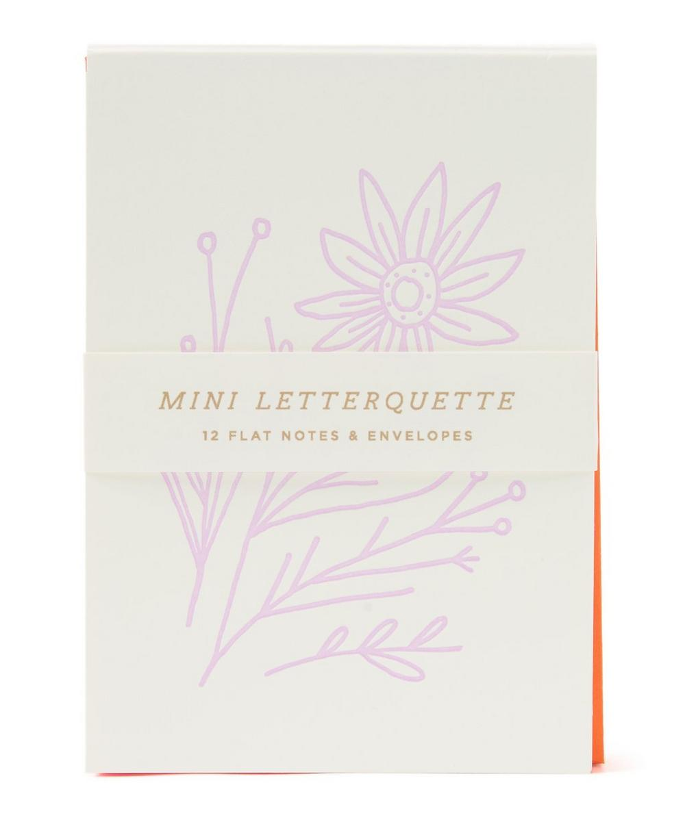 Mini Wildflower Letterquette