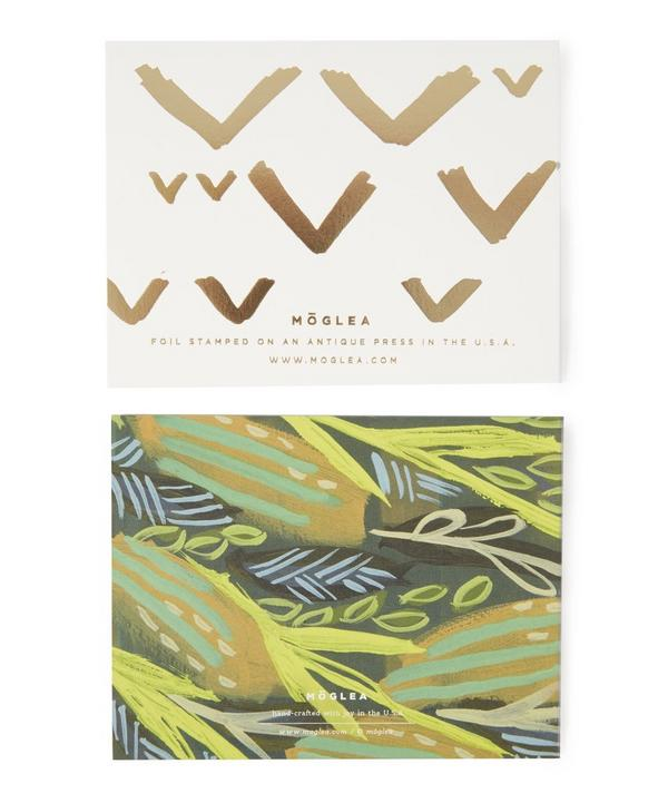 Golden Garden Stationery Set