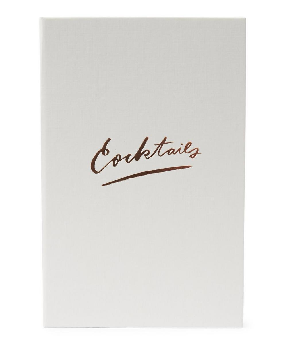 White Cocktail Recipe Binder