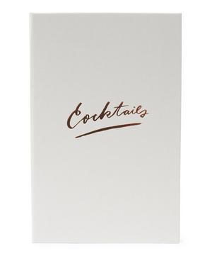 White Cocktail Recipe Binder