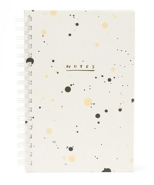 Painted Pebble Drip Notebook