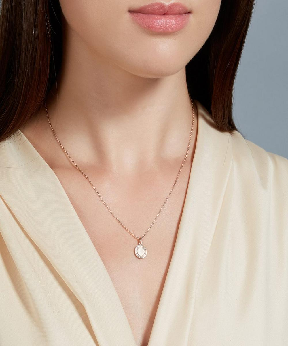 Rose Gold Cosmos Pendant Necklace