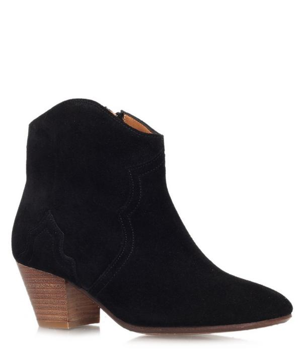 Suede Dicker Boots