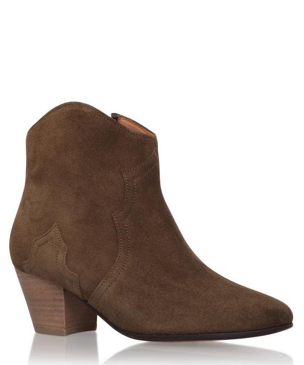 Suede Dicker Boots