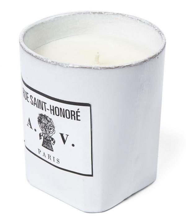 Rue Saint Honoré Ceramic Candle