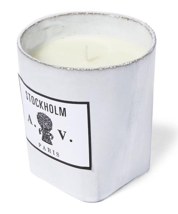 Stockholm Ceramic Candle