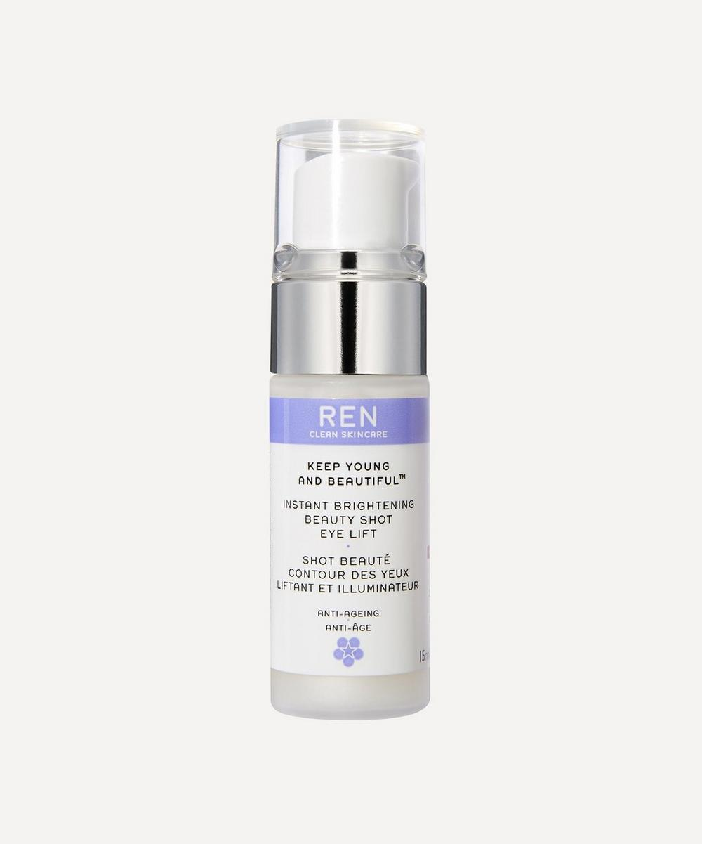 REN KEEP YOUNG AND BEAUTIFUL SHOT EYE LIFT