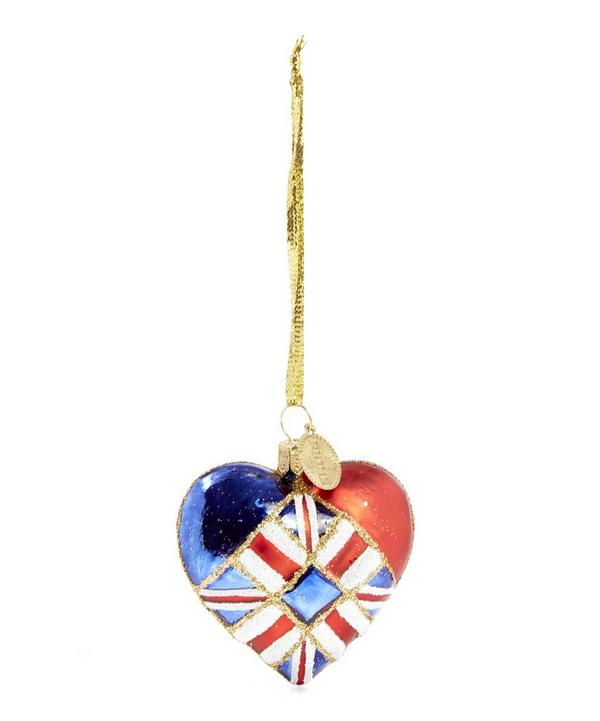 Union Jack Heart Decoration