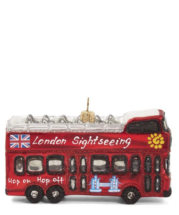 London Sightseeing Bus Bauble