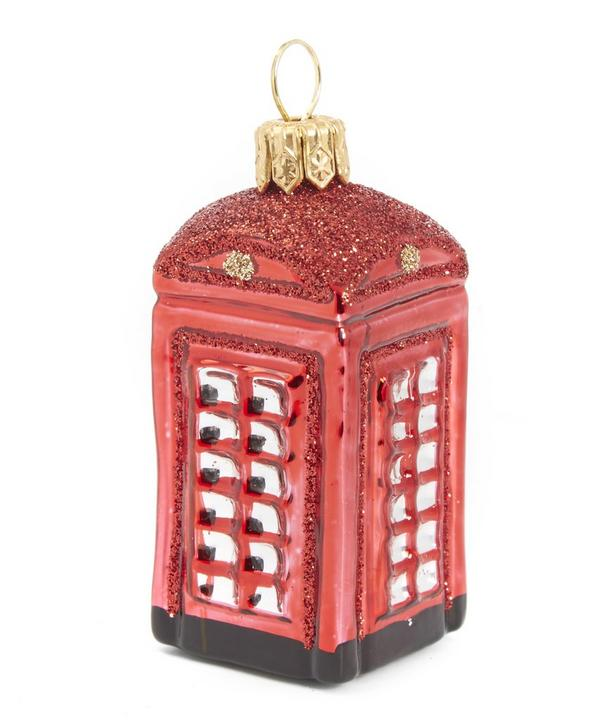 London Telephone Box Decoration