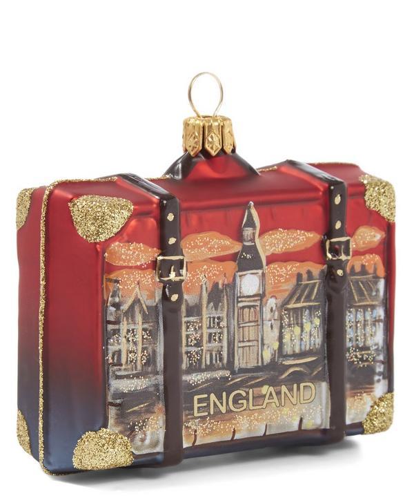 London Suitcase Decoration