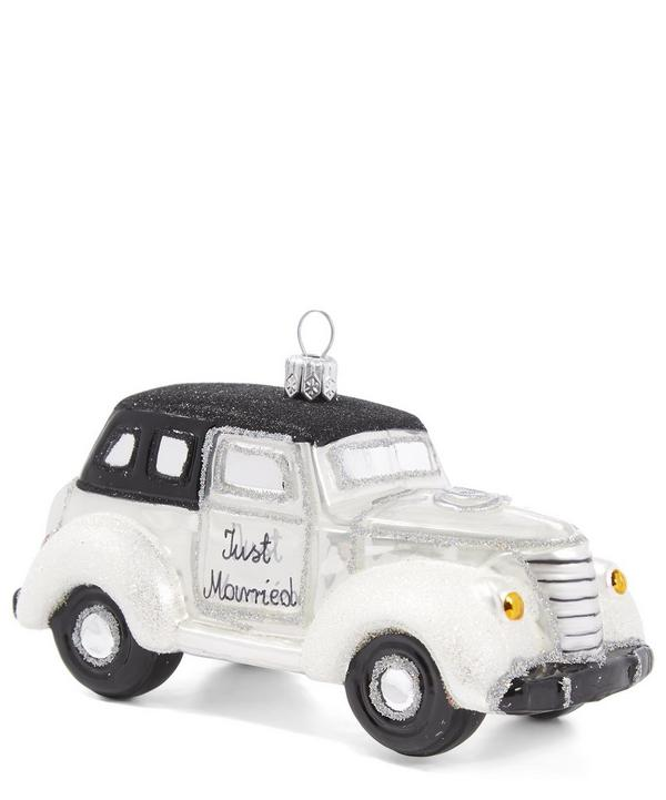 Just Married Car Bauble