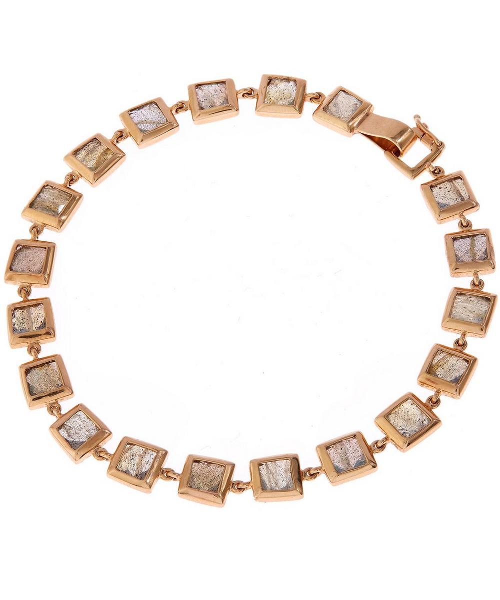 Gold Labradorite Bracelet