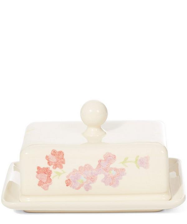 Print Butter Dish