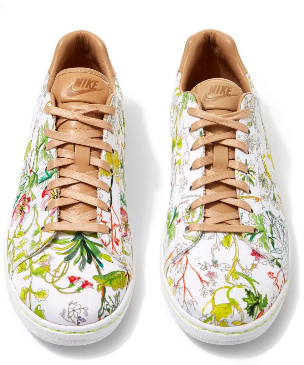Liberty Print Tennis Classic Ultra Trainers