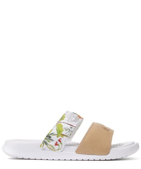 Liberty Print Benassi Duo Ultra Pool Slides