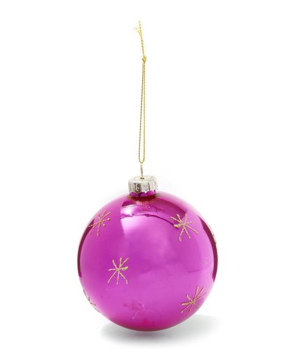 Liberty Glitter Bauble