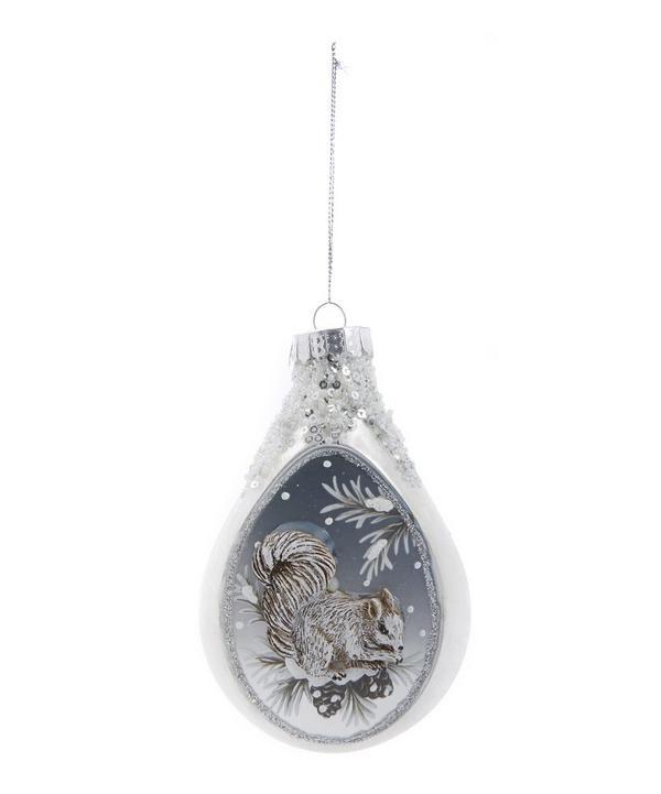 Winter Squirrel Ornament