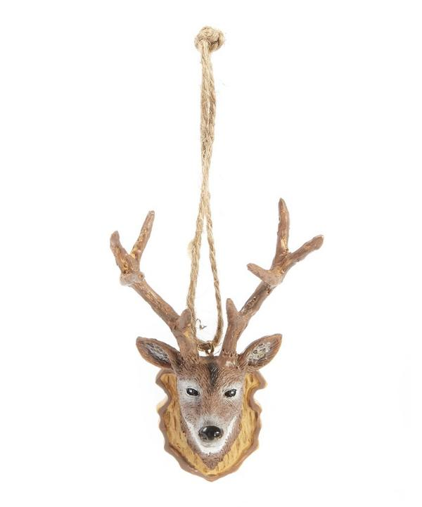 Reindeer Trophy Decoration