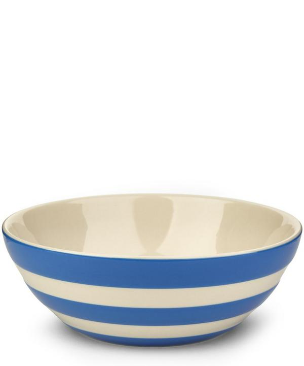 Stripe Stoneware Cereal Bowl